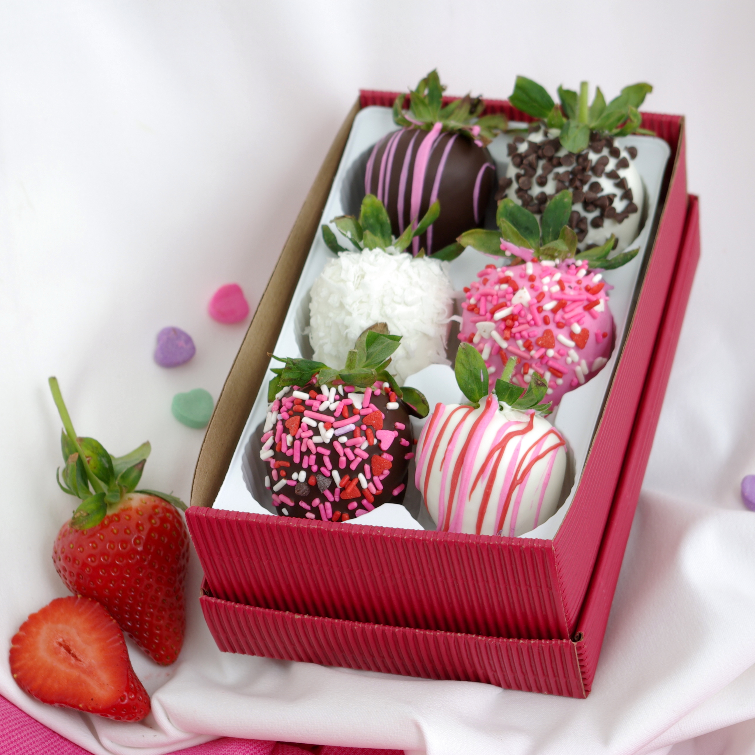 Chocolate Coated Strawberry Bouquet